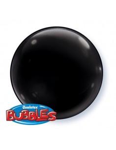 Globo Onyx Black - Bubble Burbuja Solido 38cm - Q21349 - 4 UDS