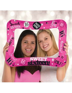 Globo Sweet Sixteen Selfie Frame Forma 58cm