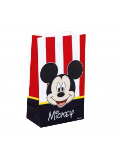 Bolsa Papel Mickey Mouse Classic 14x24cm