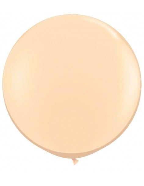 Globo Qualatex Redondo 40cm Pastel Piel