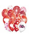 Globos San Valentin Surtidos Latex Redondos 30cm