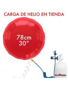 Carga de Helio Poliamida Redondos 78cm - 31 Pulgadas