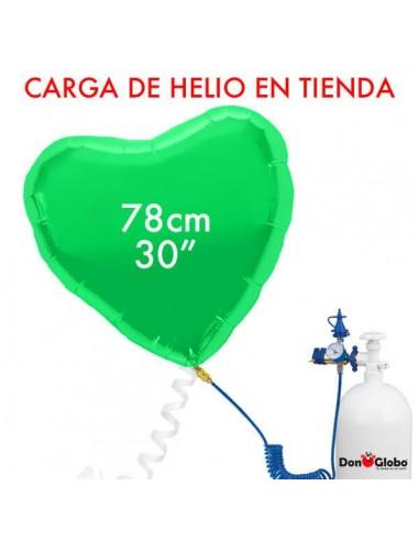 Carga de Helio Poliamida Corazones 78cm -  31 Pulgadas