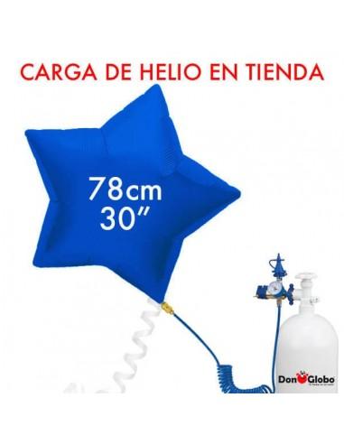 Carga de Helio Poliamida Estrellas 78cm - 31 Pulgadas