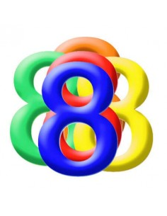 Globo PVC 35cm Numero 8 Surtido