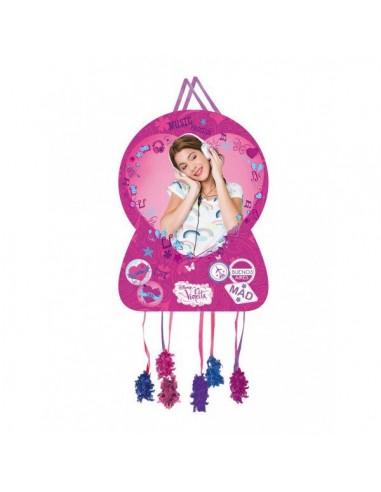 Piñata Violetta Grande de 46x65cm
