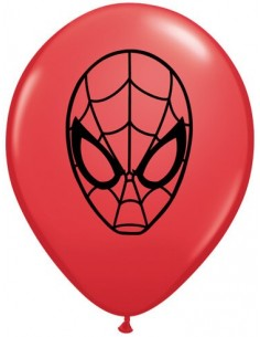 Globo Marvels Spider-Man Face Redondo 13cm