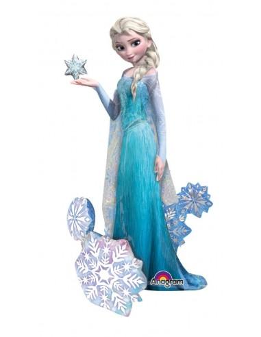 Globo Frozen Elsa - Air Walker 144x88cm Foil Poliamida -A11008701