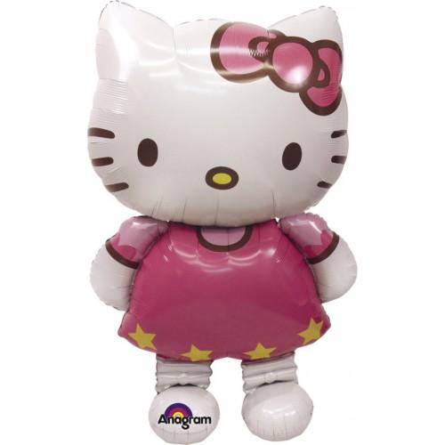 Globo Hello Kitty - Air Walker 127x76cm Foil Poliamida -A2347663