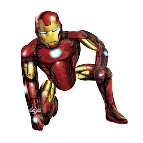 Globo Ironman - Air Walker 116x93cm Foil Poliamida -A11006201