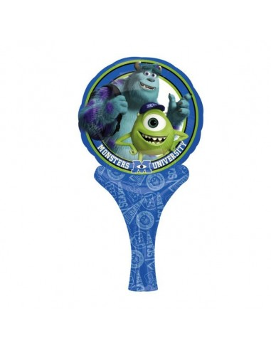 Globo Monsters Universsity - Mini Auto Inflable 23cm Foil Poliamida - A2830501