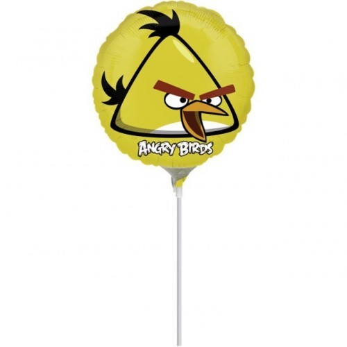Globo Angry Birds Yellow Bird - Mini 23cm Foil Poliamida - A2577309