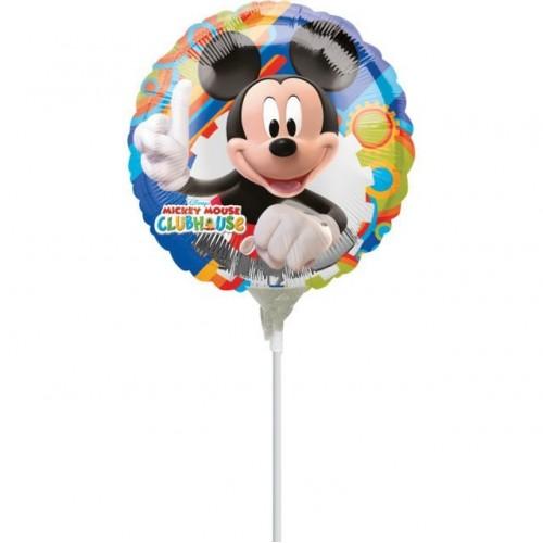 Globo Mickey Mouse - Mini 23cm Foil Poliamida - A2100009