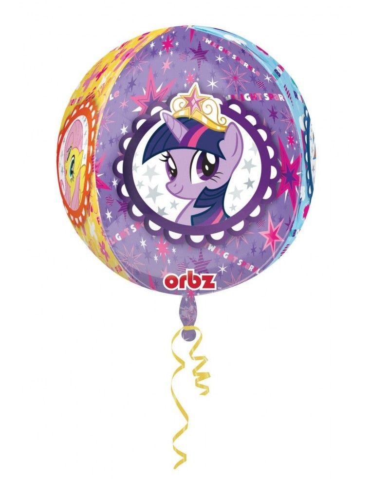 Globo Mi Pequeño Pony - Esferico 43cm ORBZ Foil Poliamida - A2981801