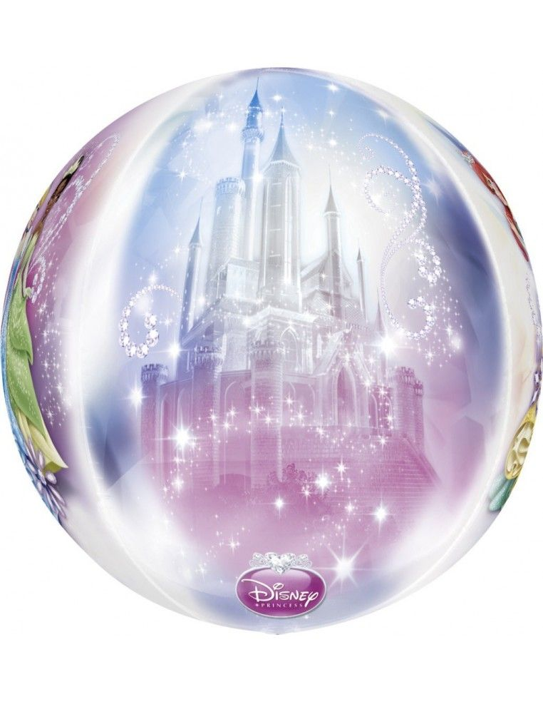 Globo Princesas Disney - Esferico 43cm ORBZ Foil Poliamida - A2839501