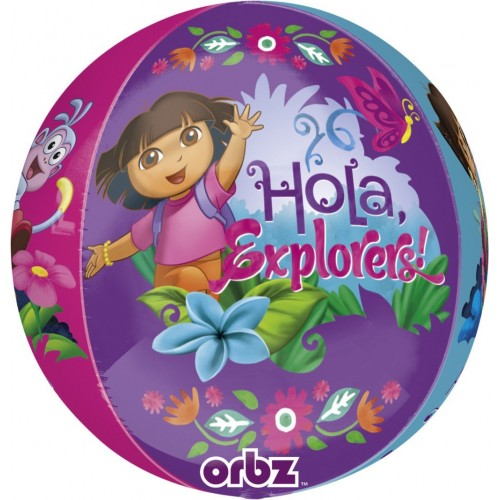 Globo Dora - Esferico 43cm ORBZ Foil Poliamida - A2839701