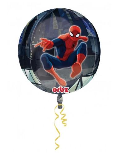 Globo Spiderman - Esferico 43cm ORBZ Foil Poliamida - A2847201
