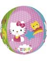 Globo Hello Kitty - Esferico 43cm ORBZ Foil Poliamida - A2839363