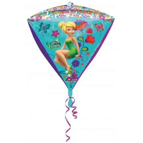 Globo Campanilla - Diamante 3D 43cm Foil Poliamida - A2845401