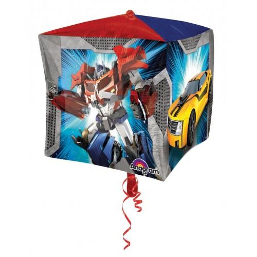 Globo Transformers - Cubo 3D 43cm Foil Poliamida - A2933801