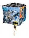Globo Batman Comics - Cubo 3D 43cm Foil Poliamida - A2901801
