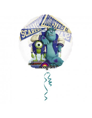 Globo Monsters University Transparente - Redondo 66cm Foil Poliamida - A2757601