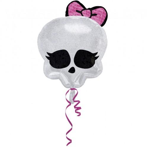 Globo Monster High Skull - Forma 45cm Foil Poliamida -A2114701-02