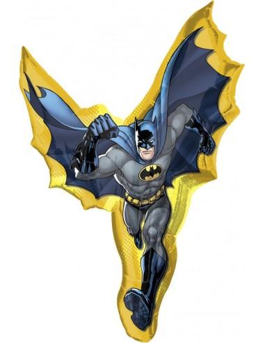Globo Batman Action - Forma 99x69cm Foil Poliamida -A1775301-02