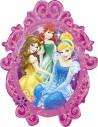 Globo Princess Frame - Forma 78x63cm Foil Poliamida -A2714901-02