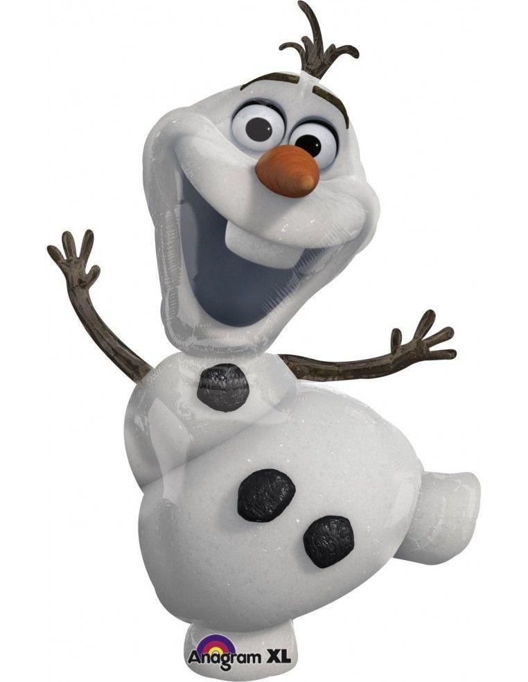 Globo Frozen Olaf - Forma 104x58cm Foil Poliamida -A2831601-02