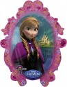 Globo Frozen - Forma 78x63cm Foil Poliamida -A2816201-02
