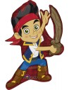 Globo Jake el Pirata - Forma 78x55cm Foil Poliamida -A2567601-02
