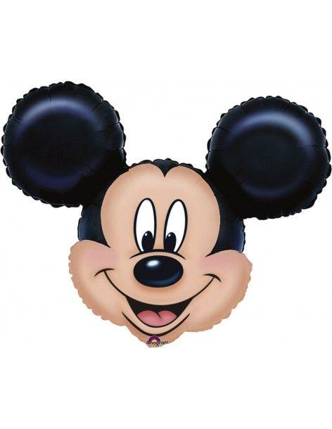 Globo Mickey Mouse Cabeza Forma 53x69cm Foil Poliamida 0776401