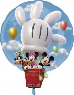 Globo Mickey y Amigos Aerostatico Forma 71x58cm Foil Poliamida 1829801