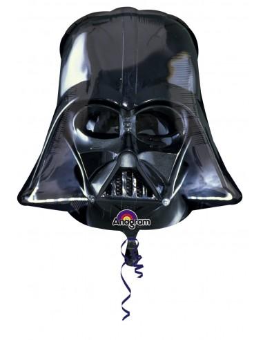 Globo Star Wars Darth Vader Cabeza - Forma 76x70cm Foil Poliamida -A2844501