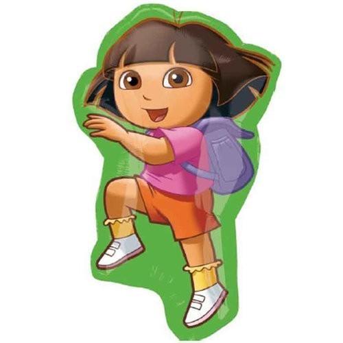 Globo Dora La Exploradora - Forma 90cm Foil Poliamida -A2292702