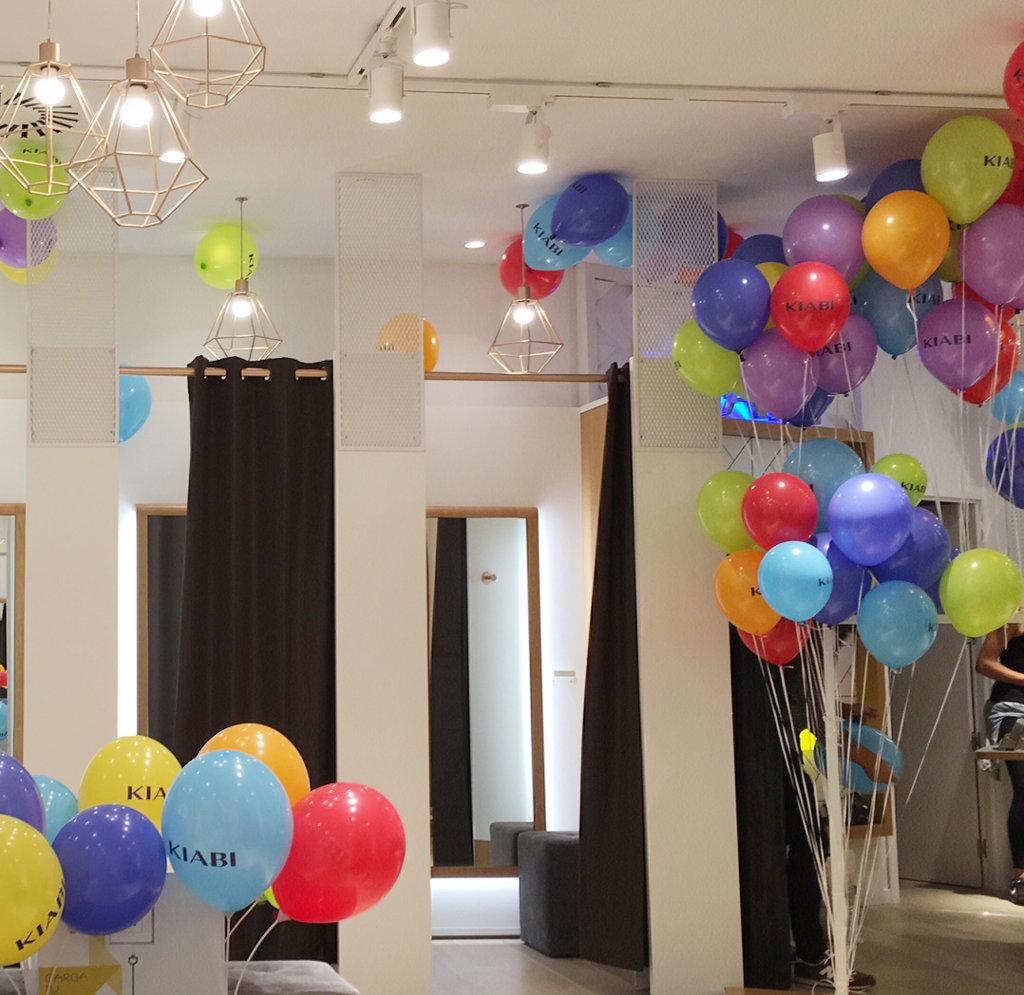 Globos personalizados con helio para kiabi - Llenar globos con helio ...