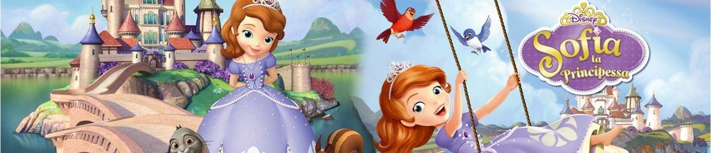 Globos Princesa Sofia. Decoracion de Cumpleaños Princesa Sofia