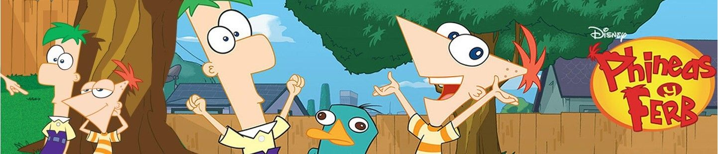 Globos con Licencia Phineas & Ferb