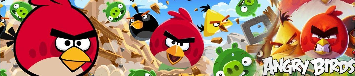 Globos Angry Birds. Decoracion de Cumpleaños Angry Birds