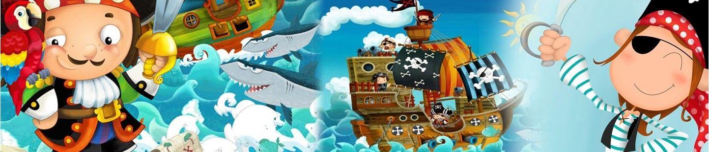 Ideas Originales para Decoración de Fiestas y Cumpleaños Piratas