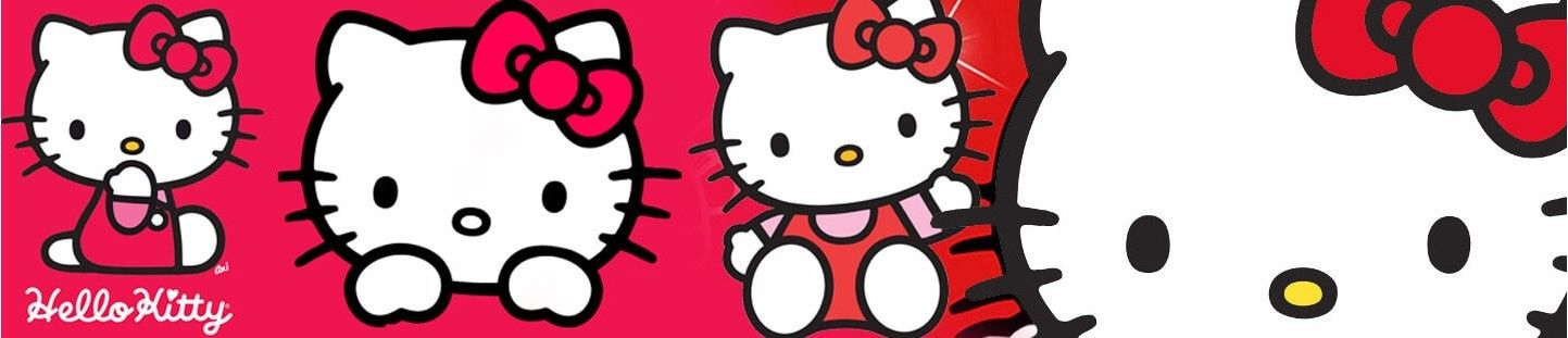 Globos Hello Kitty. Decoracion de Cumpleaños Hello Kitty
