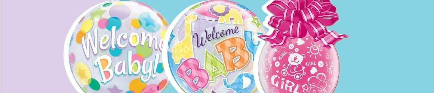 Globos para Nacimientos. Ideas Originales y Decoración Baby Shower