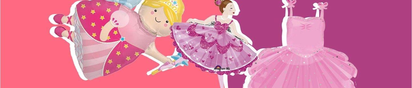 Globos de Princesas. Ideas para Decoracion y Cumpleaños de Princesas