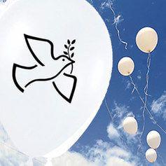 Globos Día de la Paz