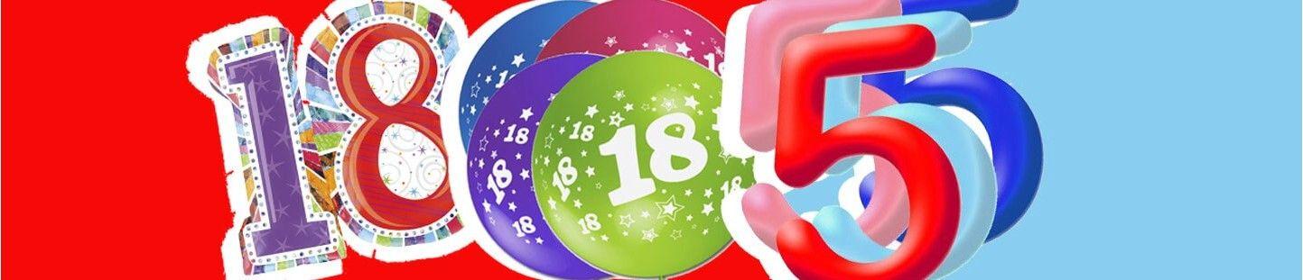 Globos de Numeros para Decoraciones de Eventos, Fiestas y Cumpleaños