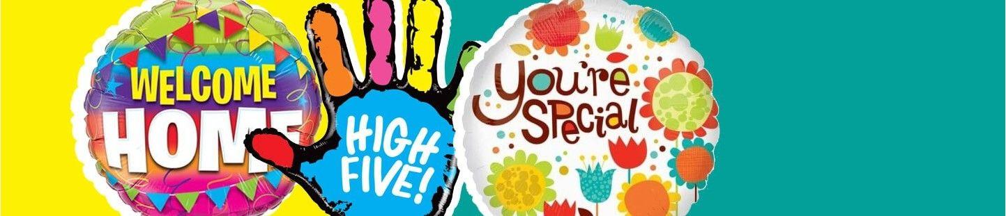 Globos con Mensajes Especiales para Decoracion de Fiestas y Cumpleaños