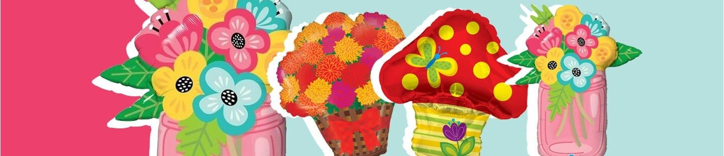 Globos de Flores, Plantas y Todo el Mundo Vegetal en Globos
