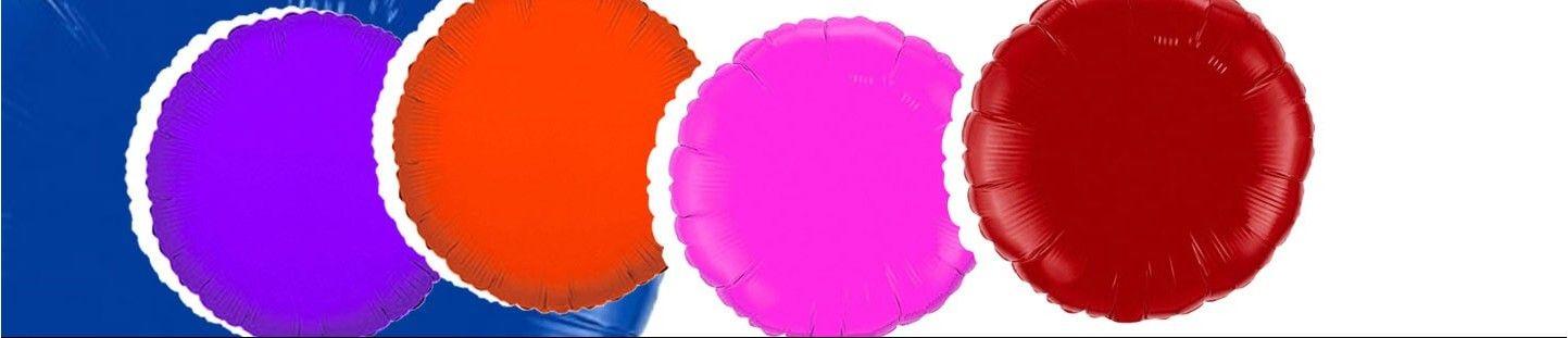 Globos Redondos 10cm Foil