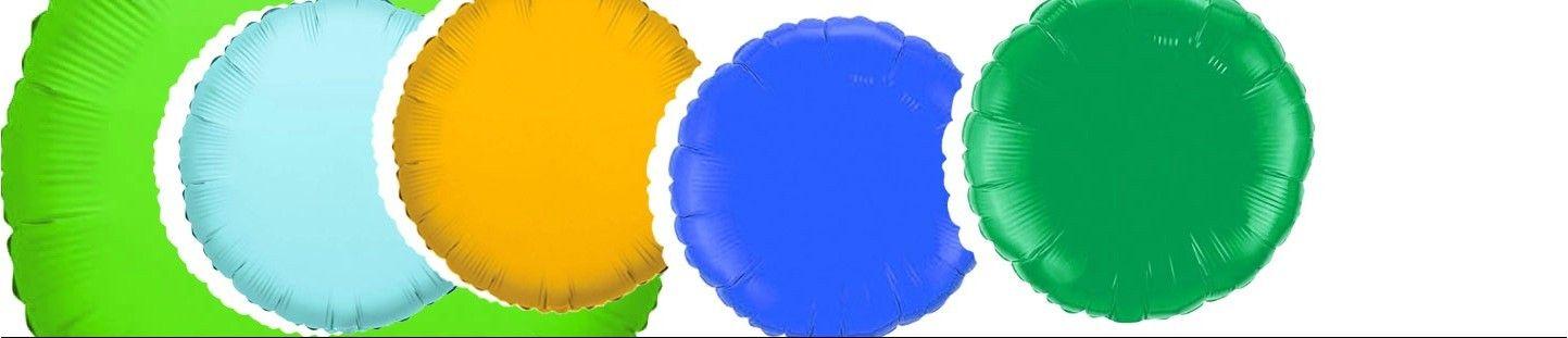 Globos Redondos 22cm Foil